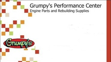 Grumpy's Business Card